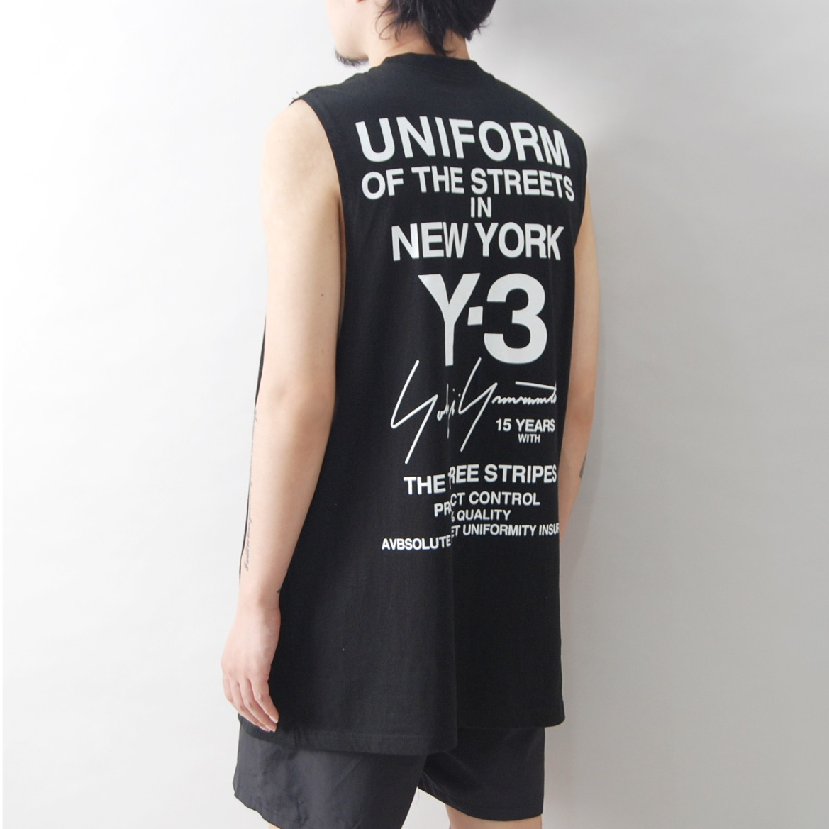 Y3 시티 백로고 나시 - Y3 WORLD TOUR SLEEVELESS (재입고 완료!!)